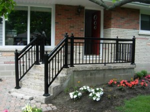 aluminum railings toronto